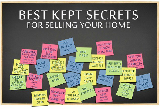Best Kept Secrets to Selling Your House